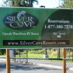 Silver Cove RV Resort | Silver Lake, WA | Sign