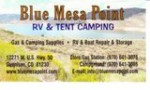Blue Mesa Point Campground