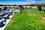 Coyote Valley RV Resort Grass Area