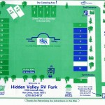Hidden Valley RV Park | Von Ormy, TX | Site Map