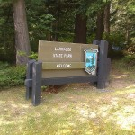 Larrabee State Park | Bellingham, WA | Entrance Sign