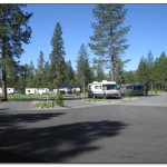 Lone Mountain RV Resort Campsite