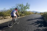 Cycling at Saguaro National Park