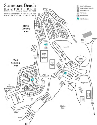 Indiana Beach Campground Map | The best beaches in the world